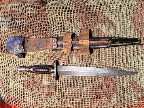 British fighting knife