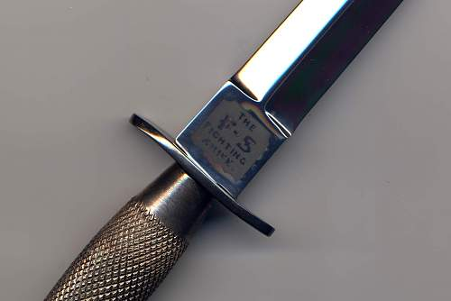 H.G. long & Co FS style fighting knife