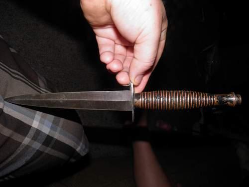 British commando dagger