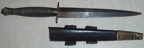 WW2 British Parachutist's  Dagger ?