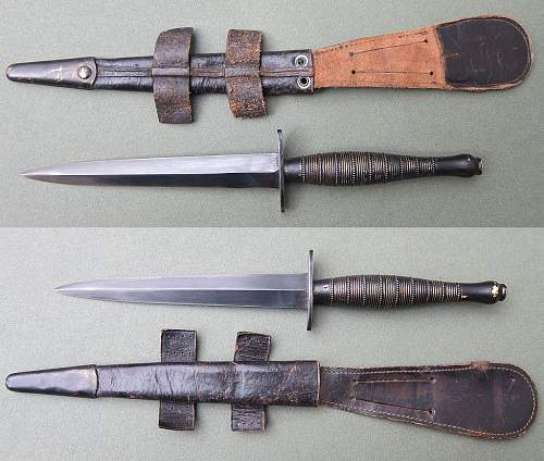 Beaded and Ringed F-S Knife