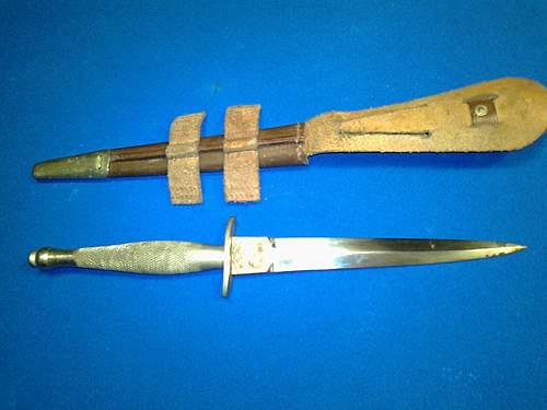 1st pattern fs fighting knife find