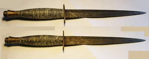 Very rough 3rd pattern FS knive