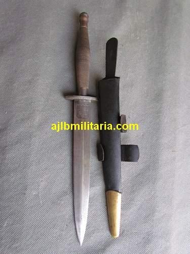 WW2 Commando dagger FS fighting knife for review