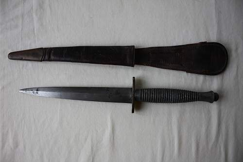 22nd Independent Parachute Company (pathfinders) Fairbairn Sykes knife