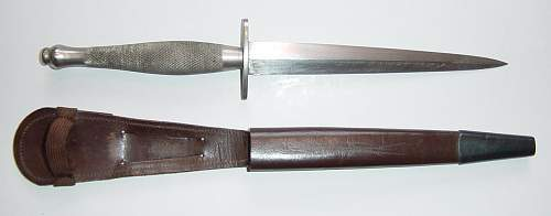Click image for larger version.  Name:2nd pattern FS knife and scabbard..JPG Views:175 Size:46.4 KB ID:58840
