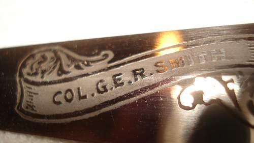 Named F/S Dagger I picked up
