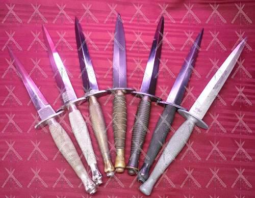 Fairbairn Sykes Fighting Knife #2