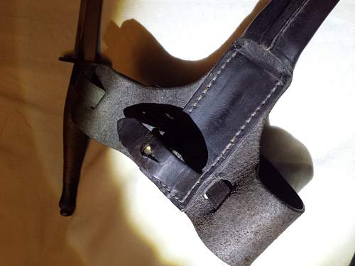 FS 2nd pattern with leg sheath