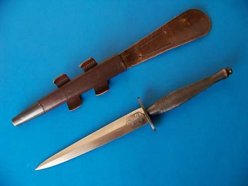 Wilkinson Second Pattern Fairbairn Sykes Knife.
