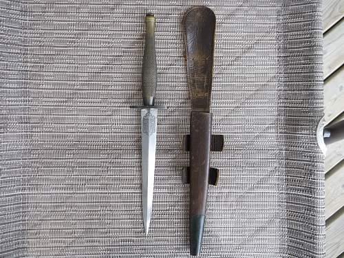 F/S fighting knife