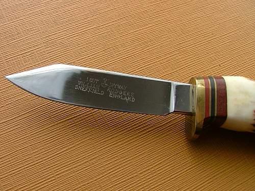 3rd Pattern FS knife