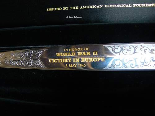 Commorative FS by Wilkinson Sword of London