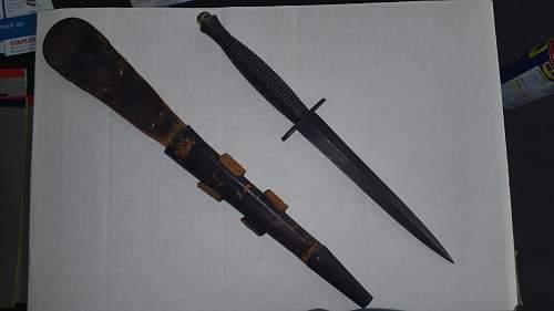 Fairbairn and sykes knife?