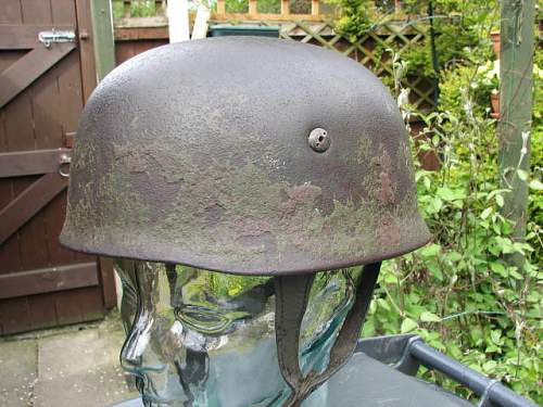 Could this fallschirjaeger helmet be genuine?