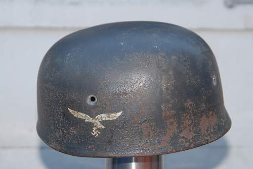 Fallschirmjager helmet real or not, need opinion