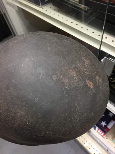 Late war M38 helmet?