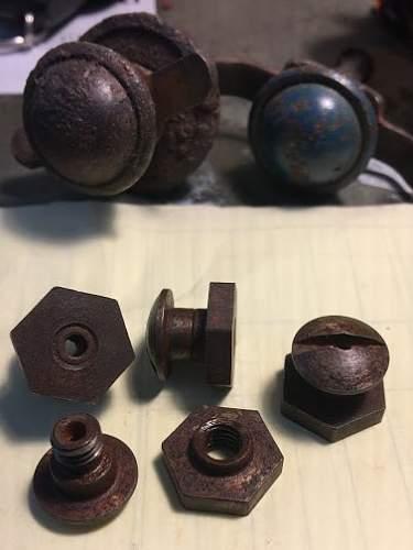 Original steel helmet spanner bolts?