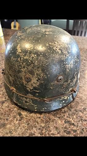 German paratrooper FJ camo helmet opinions