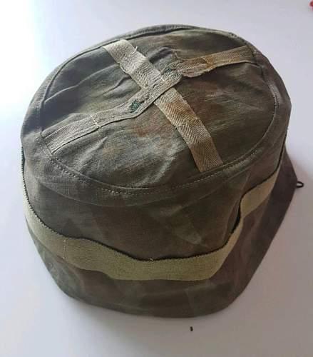 Original M38 helmet cover?
