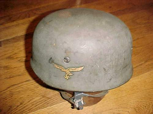 Single Decal mdl. 38 Fallschirmjager helmet