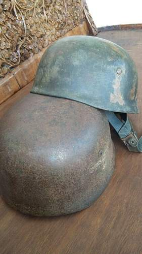 Some opinions about this M 38 paratrooper helmet please