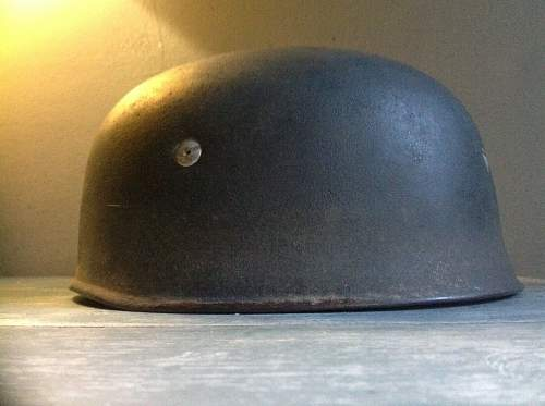 Need help with this late war ckl68 paratrooper helmet please