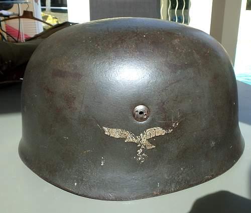 Fallschirmjager Helmet M38. Helps needed