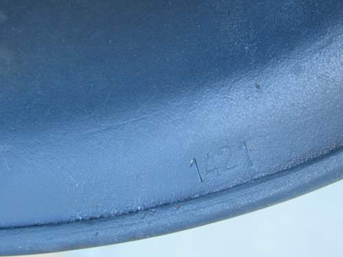 M38 German Paratrooper Helmet