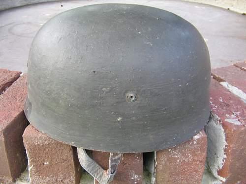FJ M38  helmet from Antique Store!