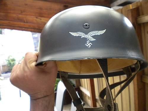 An original fake FJ Helmet?
