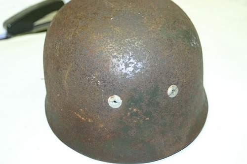 A little help - a FJ helmet - a sat morning trip