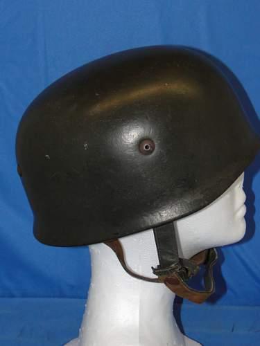 WWII German Paratrooper Helmet.