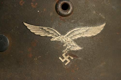Luftwaffe FJ helmet - opinions please