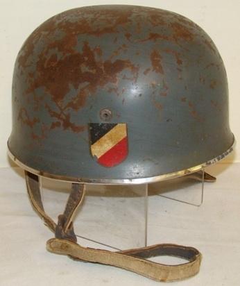Luftwaffe Paratrooper Helmet! Need help fact or fake?