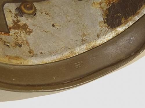 M38 Camo lid on Ebay
