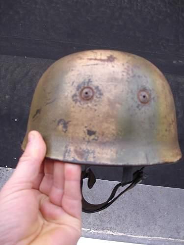 FJ DD camo helmet