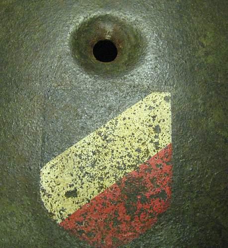 M38 Fallschirmjager Double Decal Shell