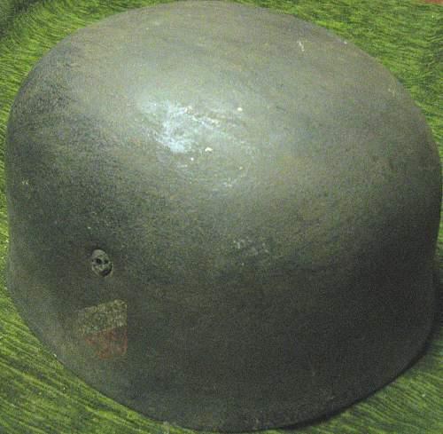 German paratrooper helmet-original?