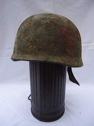 M38 camo helmet real or not