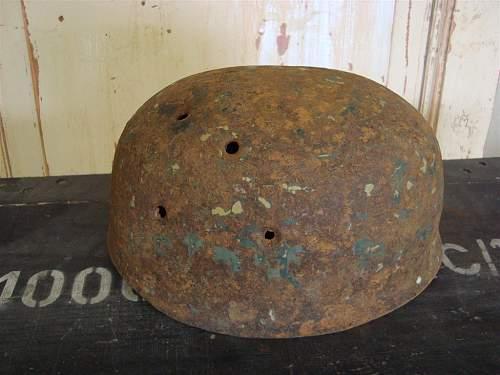 Fallschirmjager helmet?? Nice copy or....