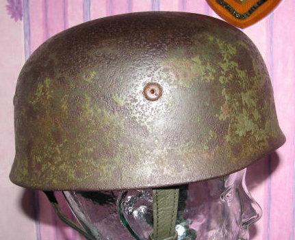 Could this fallschirjaeger helmet be genuine?