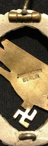 Fallschirmschützen Abzeichen by Imme & Sohn Original? Help needed
