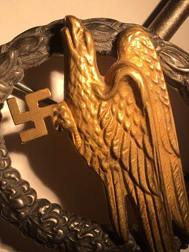 Junker Fallschirmschutzenabzeichen der Luftwaffe