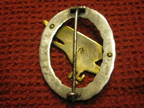 Assmann Fallschirmjager Badge