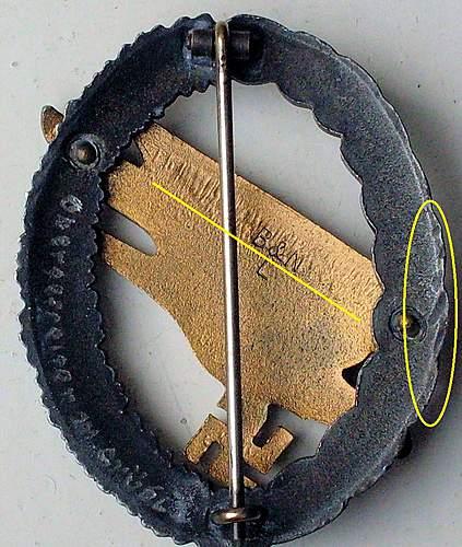 Fallschirmschutzenabzeichen der luftwaffe (b&nl)