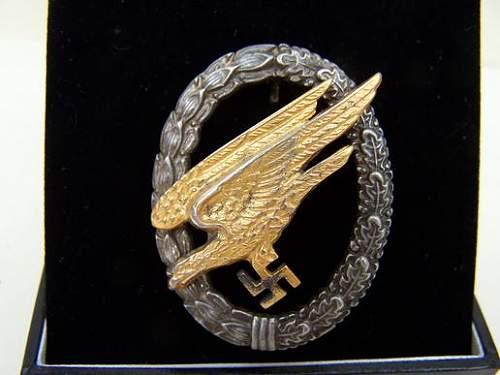 Evaluate this Bruder Schneider (BSW) FJ Qualification Badge
