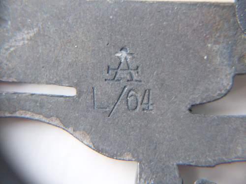 Fallschirmschutzenabzeichen ASSMANN A/L64