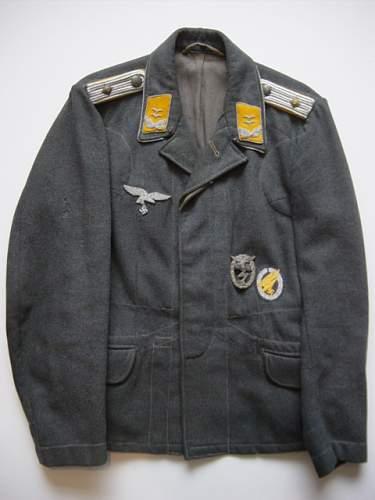 Click image for larger version.  Name:Luftwaffe FJ Officers fliegerbluse..jpg Views:22 Size:144.1 KB ID:849257