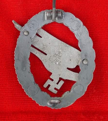 Fallschirmschutzenabzeichen Assmann L/64